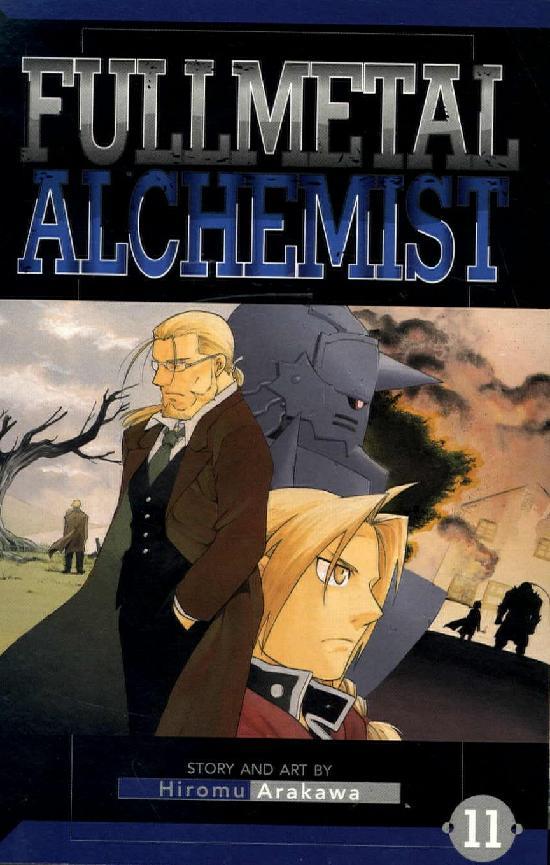 Fullmetal Alchemist -Sarjakuvakirja 11 2019