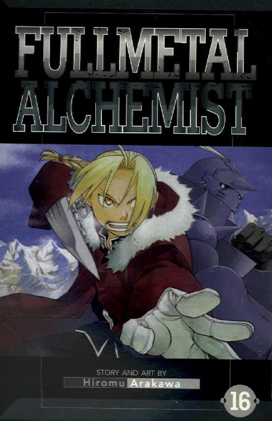 Fullmetal Alchemist -Sarjakuvakirja 16 2019