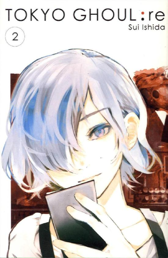 Tokyo Ghoul -sarjakuvakirja Osa 2/16 2019