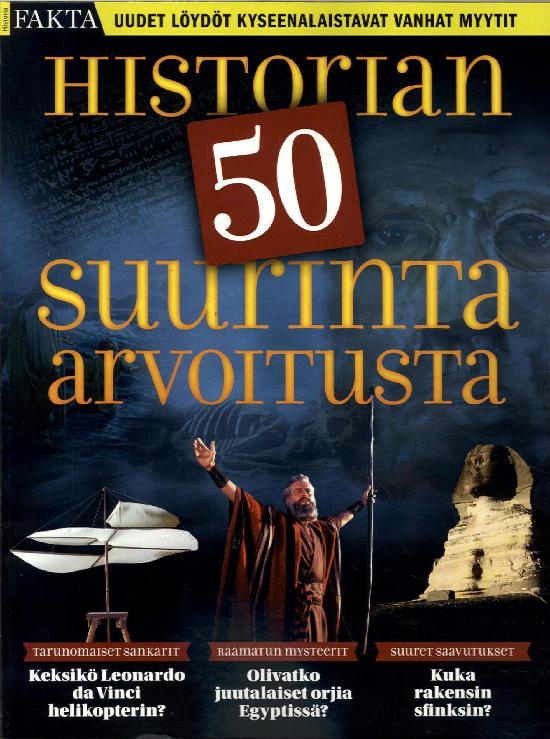 Historia Fakta Historian 50 suurinta arvoitusta 3/2019
