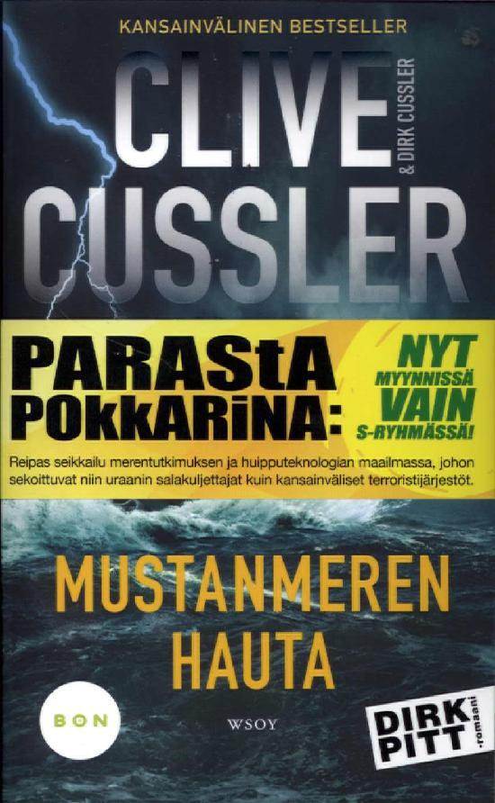 Cussler, Clive & Cussler, Dirk: Mustanmeren hauta