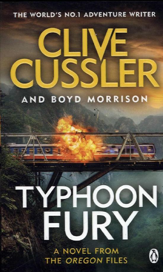 Cussler, Clive & Morrison, Boyd: Typhoon Fury