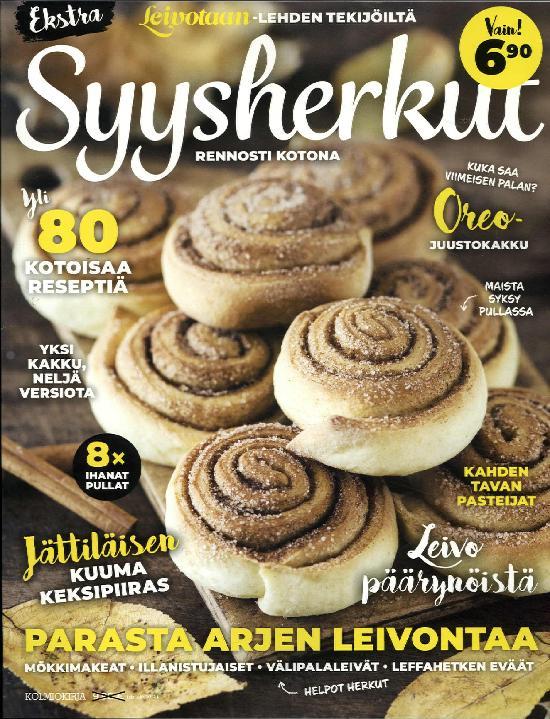 Leivotaan Ekstra Syysherkut 2/2019