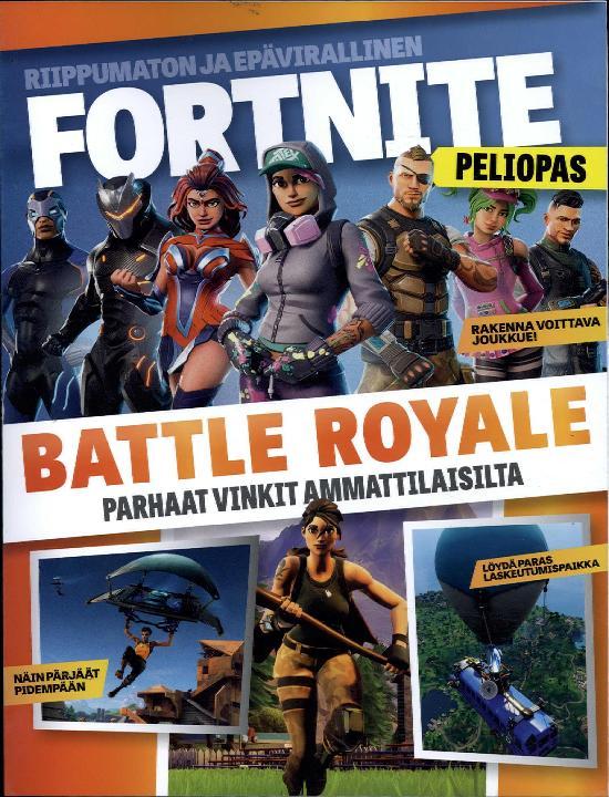 Fortnite Peliopas BATTLE ROYALE Parhaat vinkit ammattilaisilta