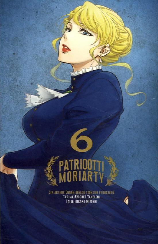 Patriootti Moriarty (Sarjakuvakirja) OSA 6/9 2019