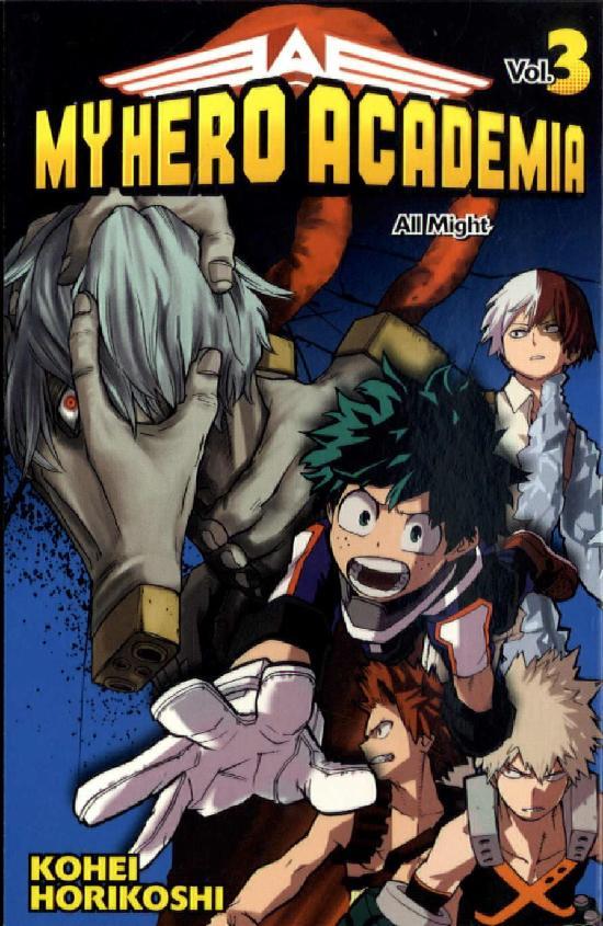 My Hero Academia (Sarjakuvakirja) Vol. 3 2019