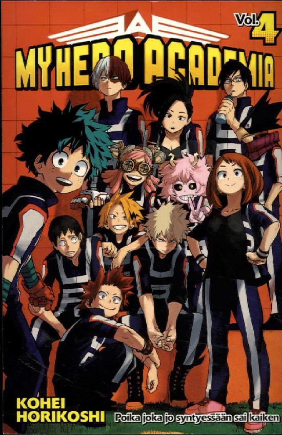 My Hero Academia (Sarjakuvakirja) Osa: 4/18 2019