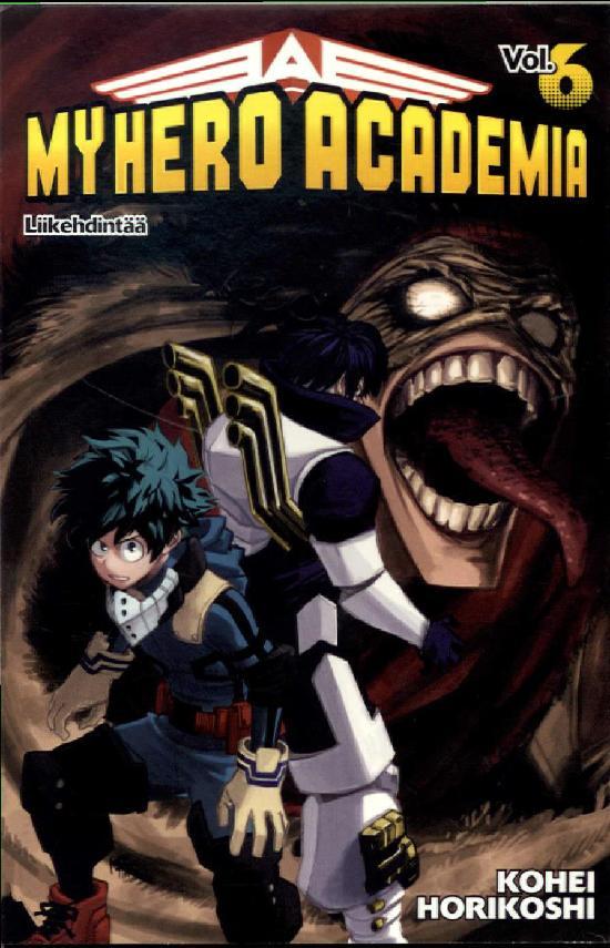 My Hero Academia (Sarjakuvakirja) Osa 6/18+ 2019