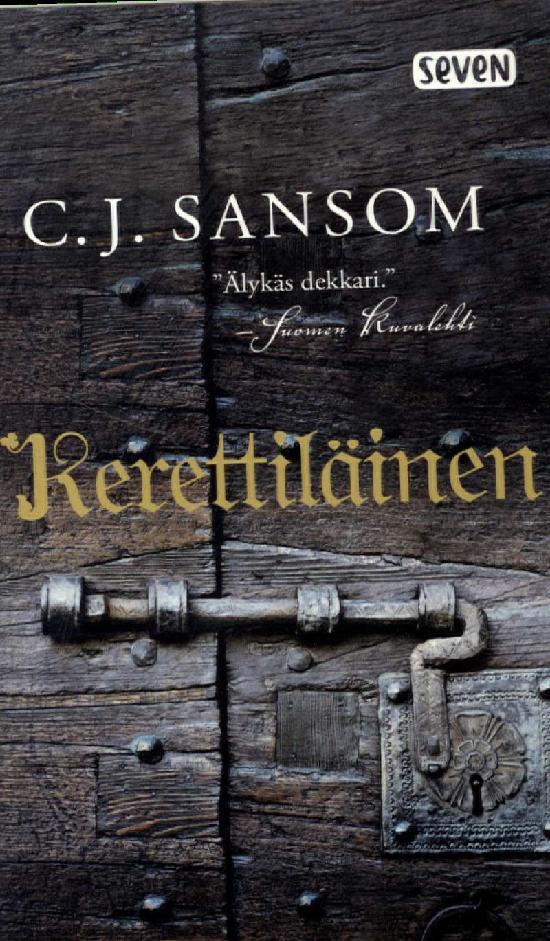 Sansom, C. J.: Kerettiläinen