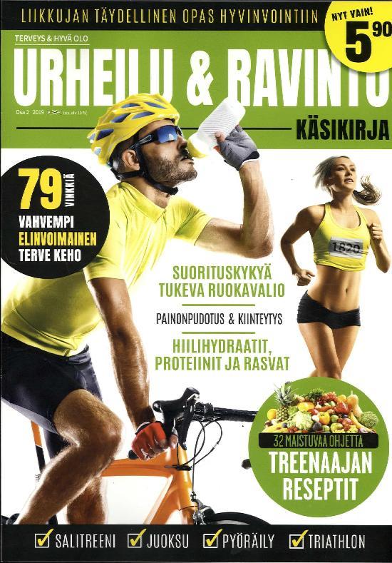 Terveys & Hyvä Olo Osa 2 2019 urheilu & ravinto käsikirja