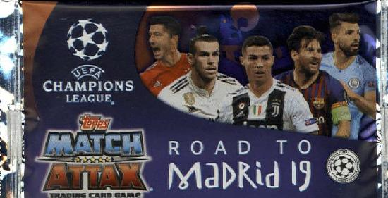 Champions League Match Attax Road to Madrid 19 -keräilykortit 1907