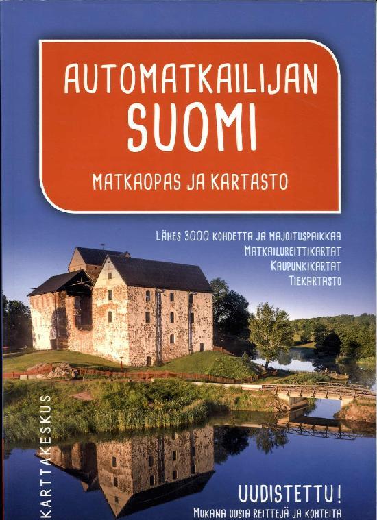 Automatkailijan Suomi Matkaopas ja kartasto