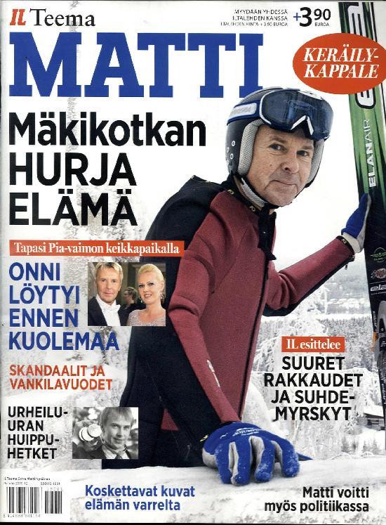 Iltalehti Teema Extra Matti Nykänen