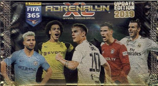Panini FIFA 365 Adrenalyn XL Update -jalkapallokortit 1/2019