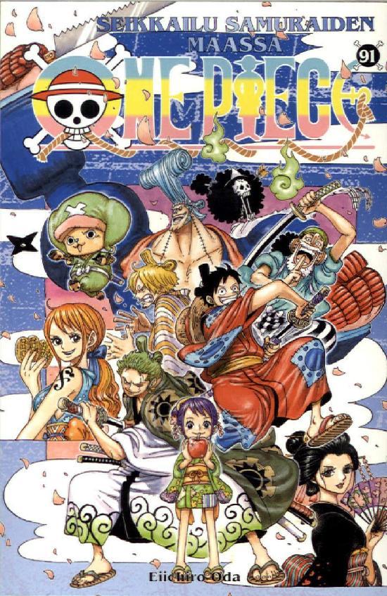 One Piece -sarjakuvakirja 91 2019
