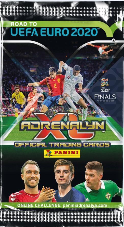 Road to Uefa Euro 2020 -jalkapallokortit 1/2019