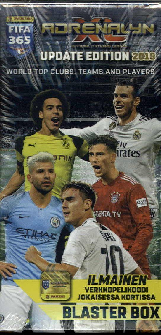 Panini FIFA 365 Adrenalyn XL Update blaster box 1/2019