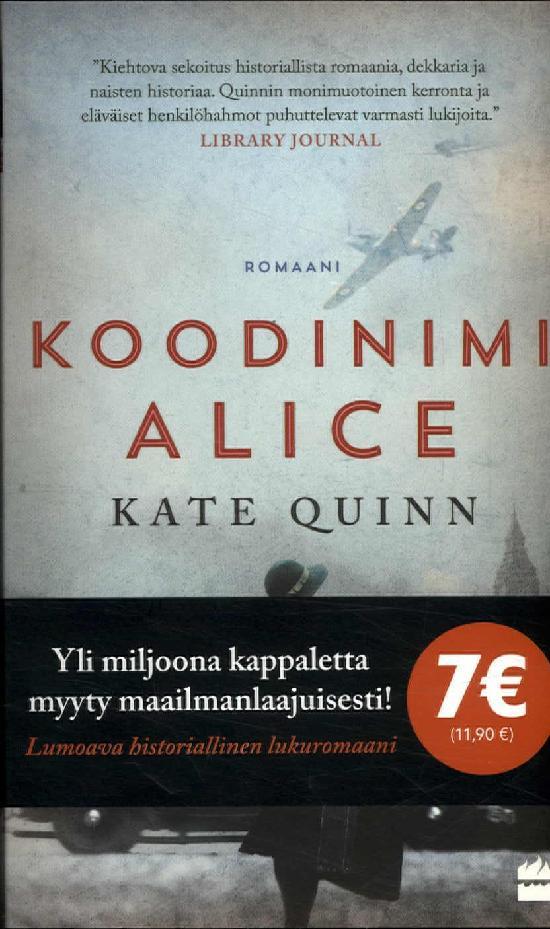 Quinn, Kate: Koodinimi Alice