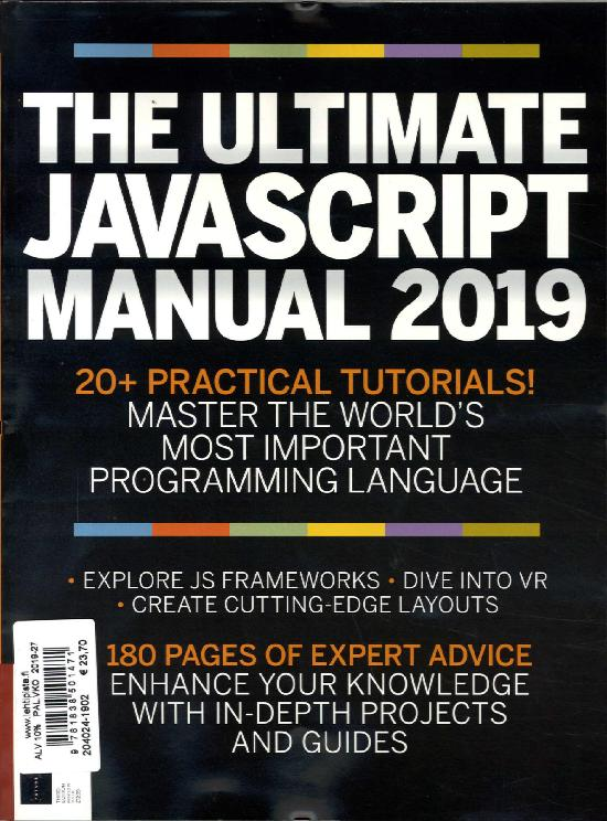 The Complete Manual Bookazine (Imagine) The Ultimate Javascript Manual 2019
