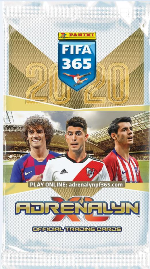 Panini FIFA 365 Adrenalyn XL -jalkapallokortit 2020