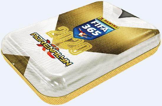 Panini FIFA 365 Adrenalyn XL pocket tin-rasia 2020