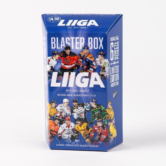 Cardset Liigakortit 1. sarja Blaster Box 2019-2020