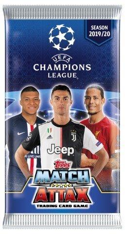 Champions League Match Attax -keräilykortit 1/2019