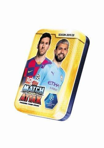 Champions League Match Attax mini tin 1901
