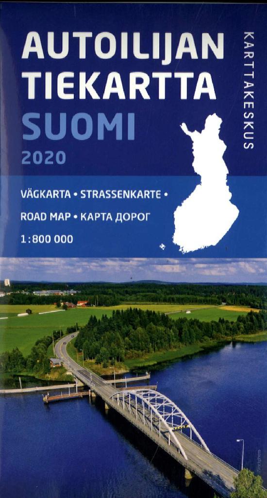 Autoilijan Tiekartta Suomi 2001
