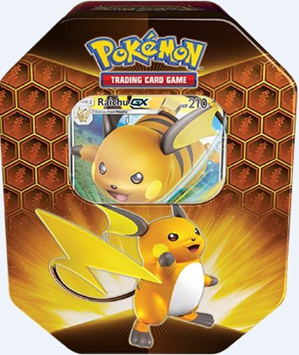 Pokemon Hidden Fates GX -tin-rasia 1/2019