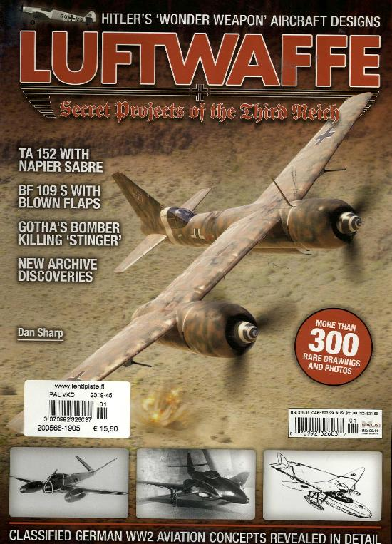 History Bookazines (Morton) Luftwaffe Secret Projects of the Third Reich