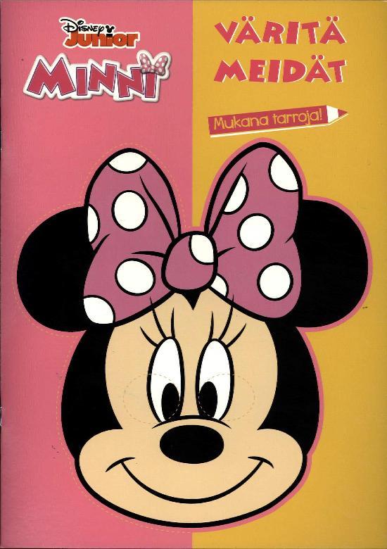 Walt Disney Puuhakirja Minni värityskirja Väritä meidät
