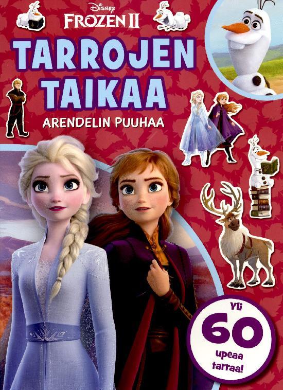 Walt Disney Puuhakirja Frozen 2 Tarrojen taikaa Arendelin puuhaa Yli 60 upeaa tarraa!