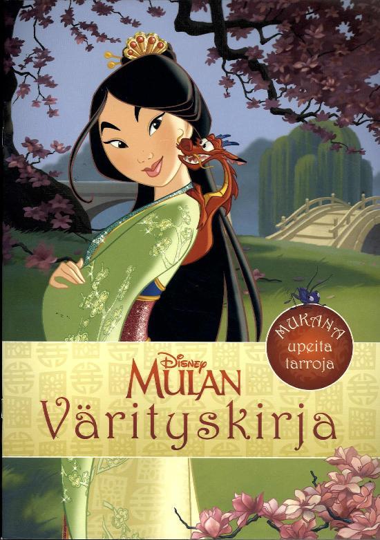 Disneyn Prinsessat Prinsessa Mulan värityskirja 1/2020