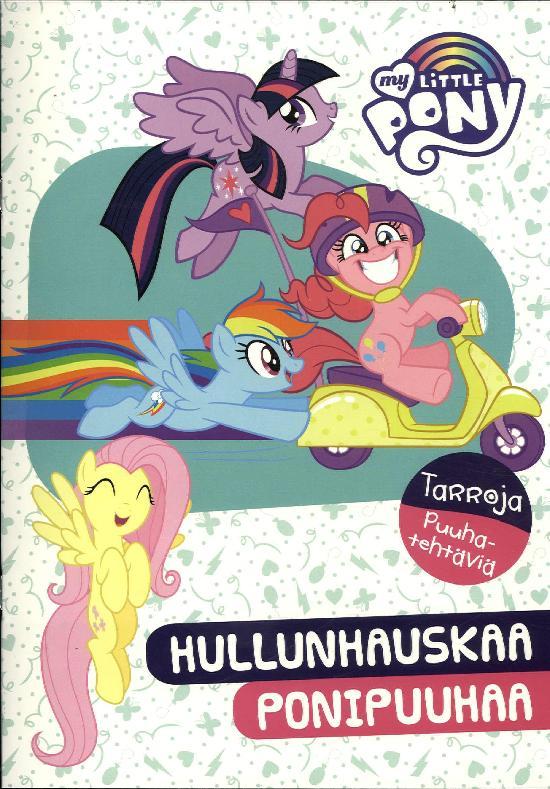 Tarrakirja (Egmont) My Little Pony puuhakirja tarroilla 2020