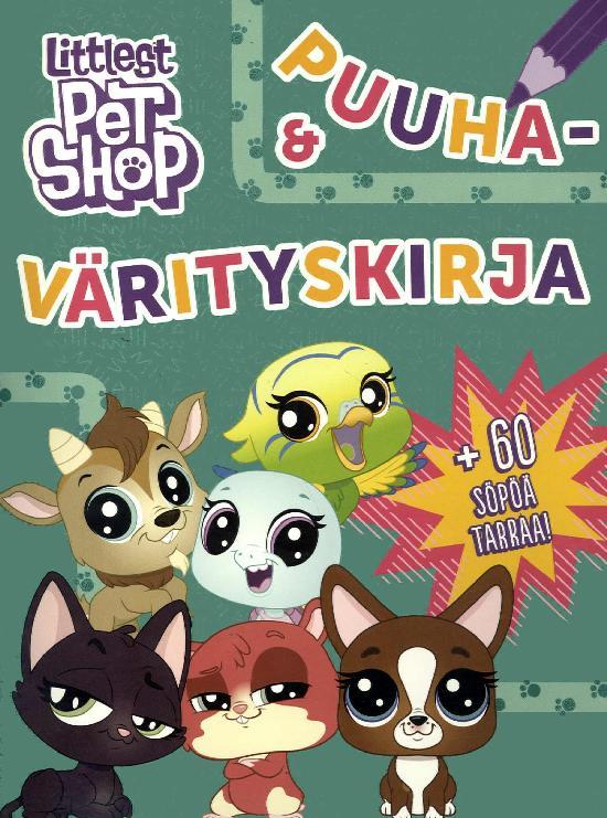 Littlest Pet Shop Puuha- & värityskirja