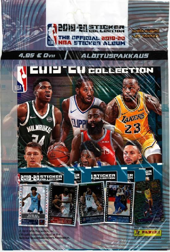 NBA aloituspakkaus (tarrat) 1/2019