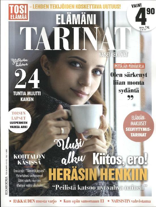 Tosi Elämää -Ekstra Elämäni tarinat 1/2019