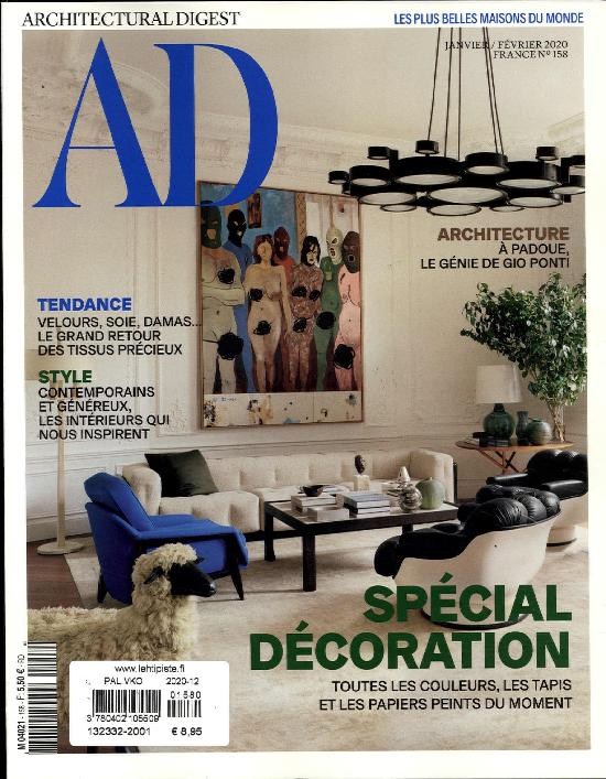 Ad, Architectural Digest (Fre)