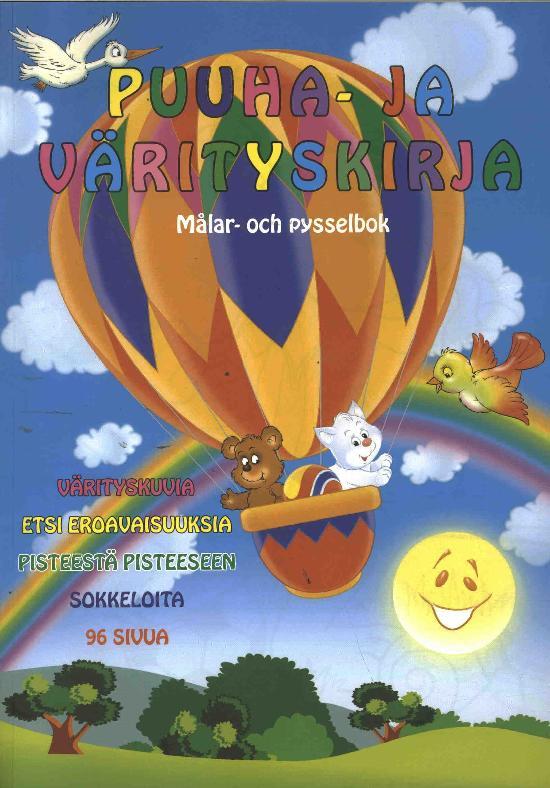 Puuha- ja Värityskirja 3/2020 Målar- och pysselbok