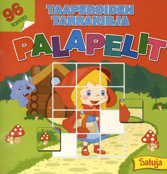 Taaperoiden tarrakirja 2/2020 Palapelit