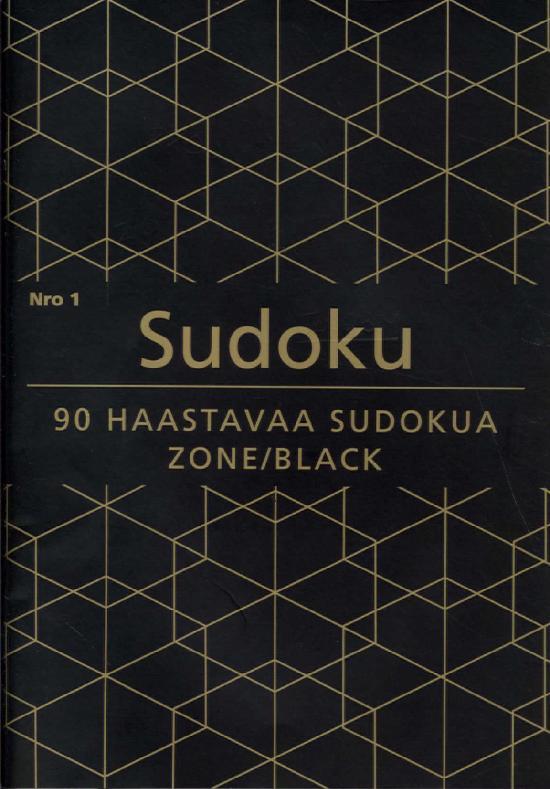 Sudoku Zone (suom.) Nro 1 2020 90 haastavaa sudokua