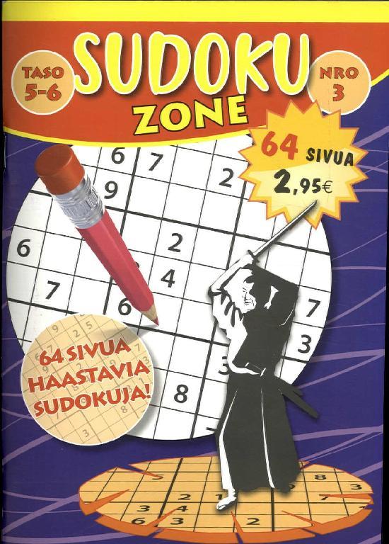 Sudoku Zone (suom.) NRO 3 2020