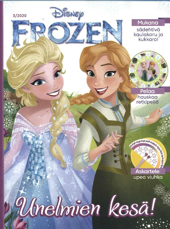 Prinsessa Erikoisnumero Frozen 3/2020