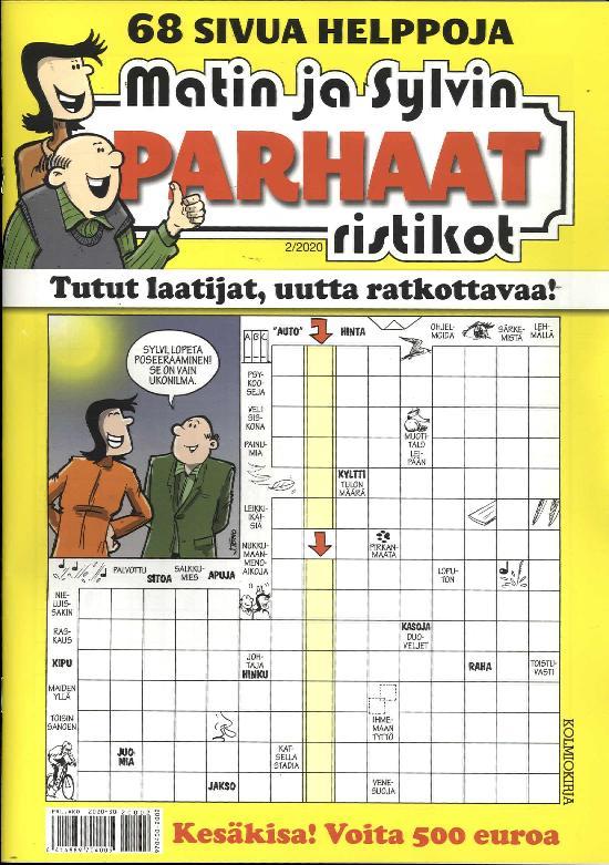 Matin ja Sylvin Parhaat Ristikot 2/2020