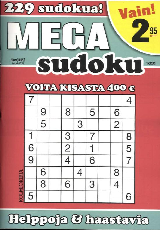 Mega-Sudoku 2001
