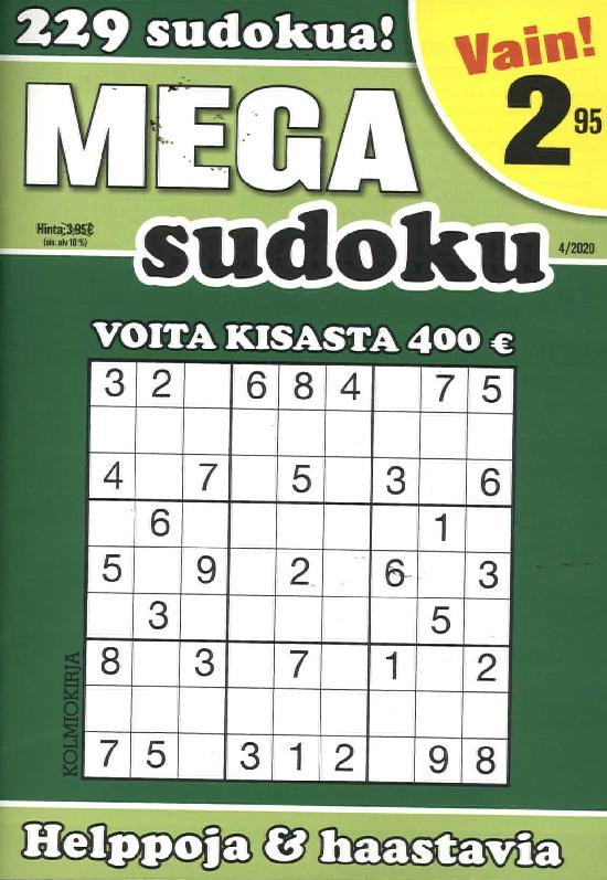 Mega-Sudoku 2004