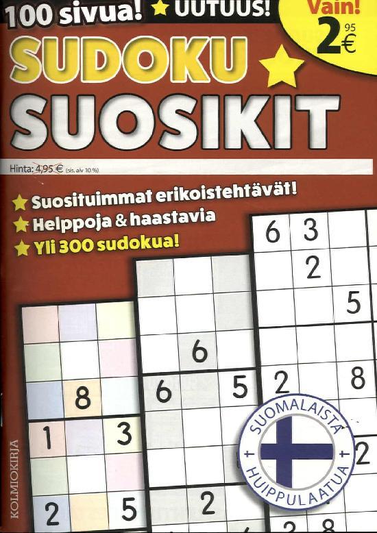 Sudoku-Suosikit 01/2020