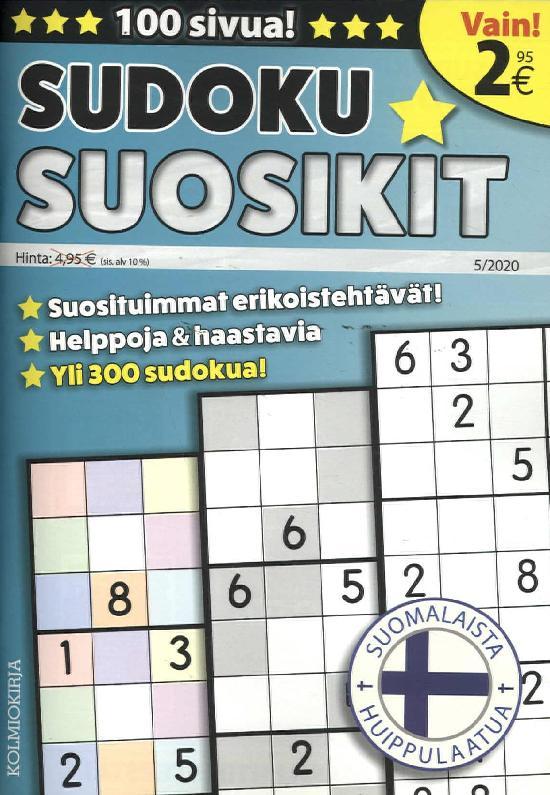 Sudoku-Suosikit 2005
