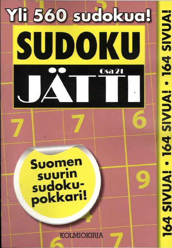 Sudoku-Jätti Osa 21 1/2020